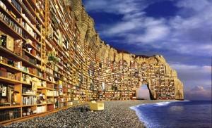 Etretat Library di Xavier.Velly